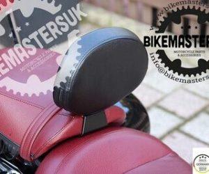 Adjustable riders backrest